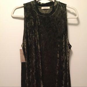 Green cocktail dress, never worn